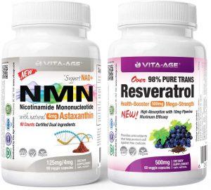 Resveratrol and Vita-Age-NMN